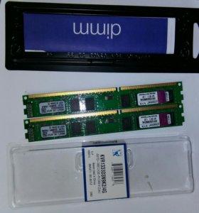 Оперативная память 4gb кит(2х2) ddr3 1333