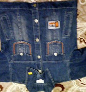 Пиджачок джинсовый