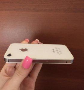 Айфон 4 s+чехольчики📱в хорошем состоянии!