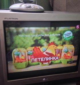 Телевизор LG, 52 см. С антенной