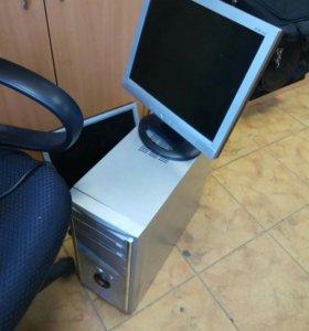 Компьютер с монитором