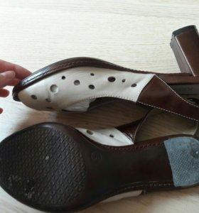 Итальянские туфли босоножки