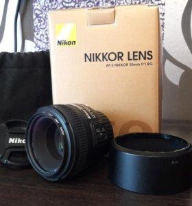 Nikon AF-S NIKKOR 50 мм f/1.8G