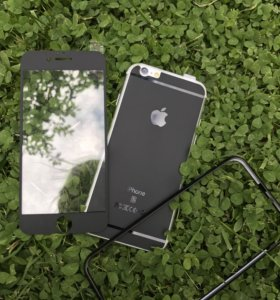 Матовые стёкла на iPhone 6,6s