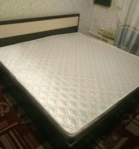 Кровать Лиана с матрасом новая!