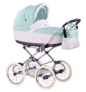 Детская коляска Roan Marita(2в1)ЭКО кожа
