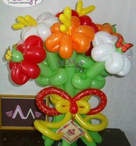 Букет 9 цветов
