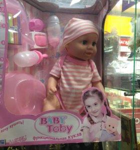 Кукла пупс baby born (Toby)