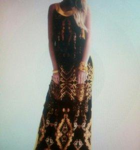 Платье. Новое. Вискоза. Португалия