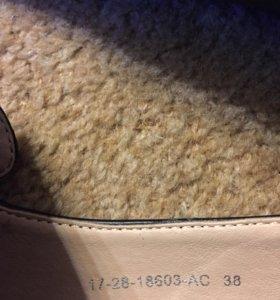 Туфли женские размер 38 черные