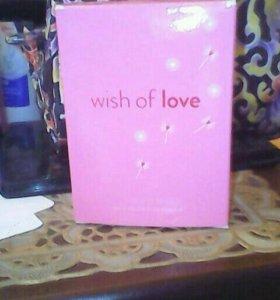 Туалетная вода Wish of Love