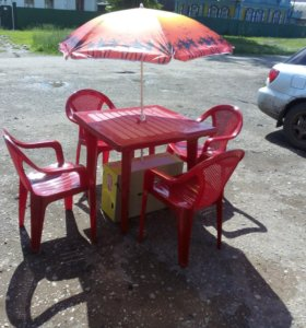 Комплект стол и 4 стула