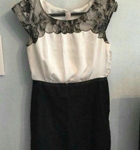 Женское офисное платье 46 р-р