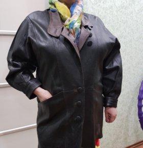 Ретро винтаж куртка кожаная женская