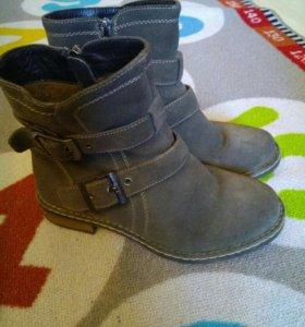 Ботинки dodgio натуральная замша