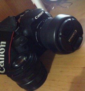 Продаю зеркальный фотоаппарат CANON 600D
