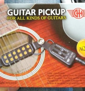 Звукосниматель для акустической гитары QH AQ-601