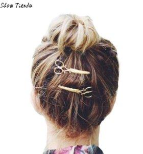 Зажим для волос-ножницы🤔