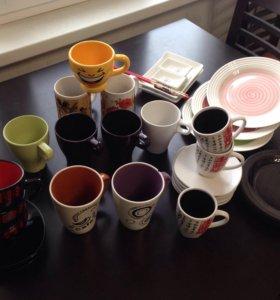 Набор посуды: 35 предметов (набор для суши/роллов