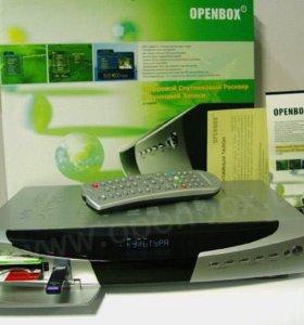 Спутниковый ресивер openbox ,7200,с жестким диском