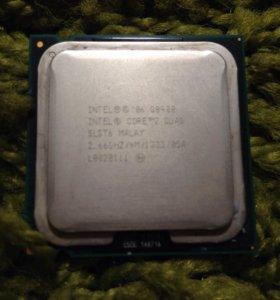Процессор intel core 2 quad q8400 + кулер