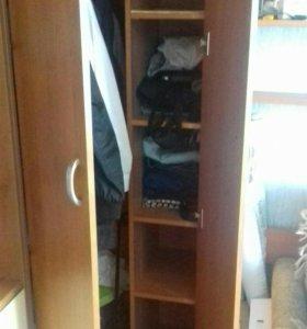 Угловой шкаф с дополнением