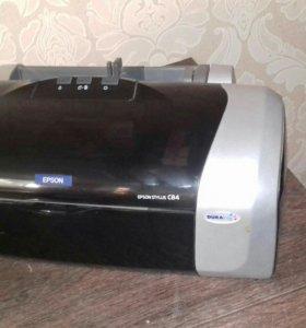Принтер Epson Stylus C84.Без СНПЧ и чернил