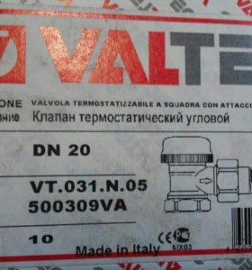 Клапан термостатический угловой Valtec VT.031.