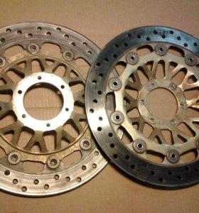 Тормозные диски honda cb400