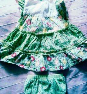 Платье 74 р