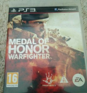 Medal of Honor Warfighter на ps3 + код