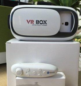 VR BOX(очки виртуальной реальности с пультом)