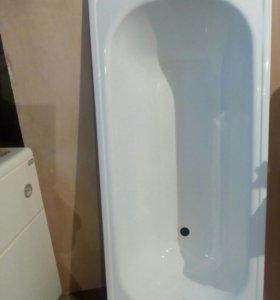 Ванна новая, стальная, эмалированная,150 см.