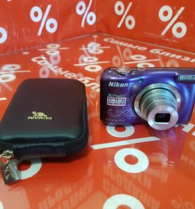 Nikon Coolpix L27 Purple Lineart