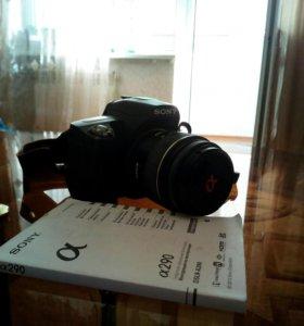 Цифровая зеркальная фотокамера SONY a290