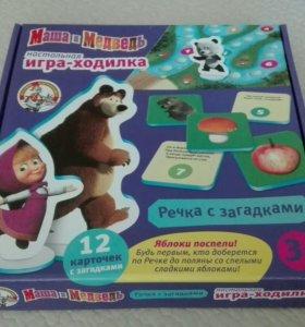 Игра-ходилка Маша и медведь