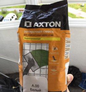 Затирочная смесь для межплиточных швов белая, 2 кг