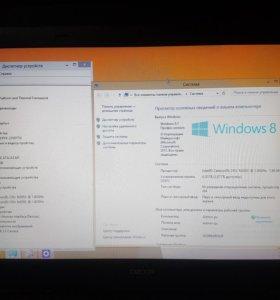 Ноутбук DEXP в идеальном состоянии
