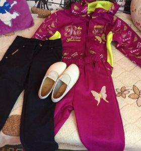 Одежда на девочку 4- 5 лет