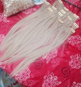 Искусственные пряди волос