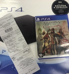 Sony ps4 + диск.