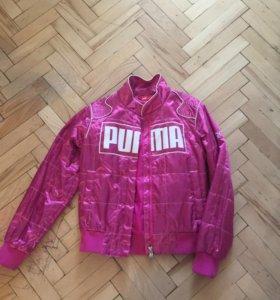 куртку - ветровку на девочку 12-14 лет 40 размер