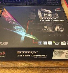 Материнская плата Asus Z270H STRIX Gaming