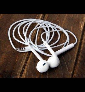 Гарнитура APPLE EarPods наушники