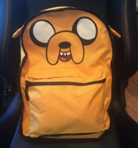 Рюкзак новый Adventure Time + шапка в 🎁