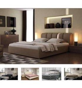 Интерьерная кроватьМалибу