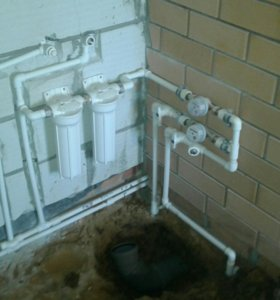 Водопровод отопление