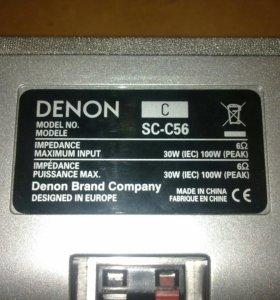 Колонки от ресивера DENON DSW-56