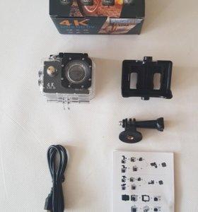 4К экшн-камера новая