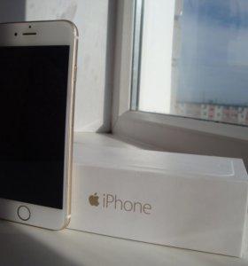 Продам iPhone 6, Gold, 64GB